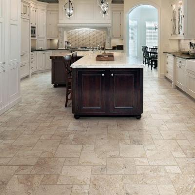 Travisano Trevi 3 in. x 12 in. Porcelain Bullnose Trim Floor and Wall Tile (0.258 sq. ft. / piece)
