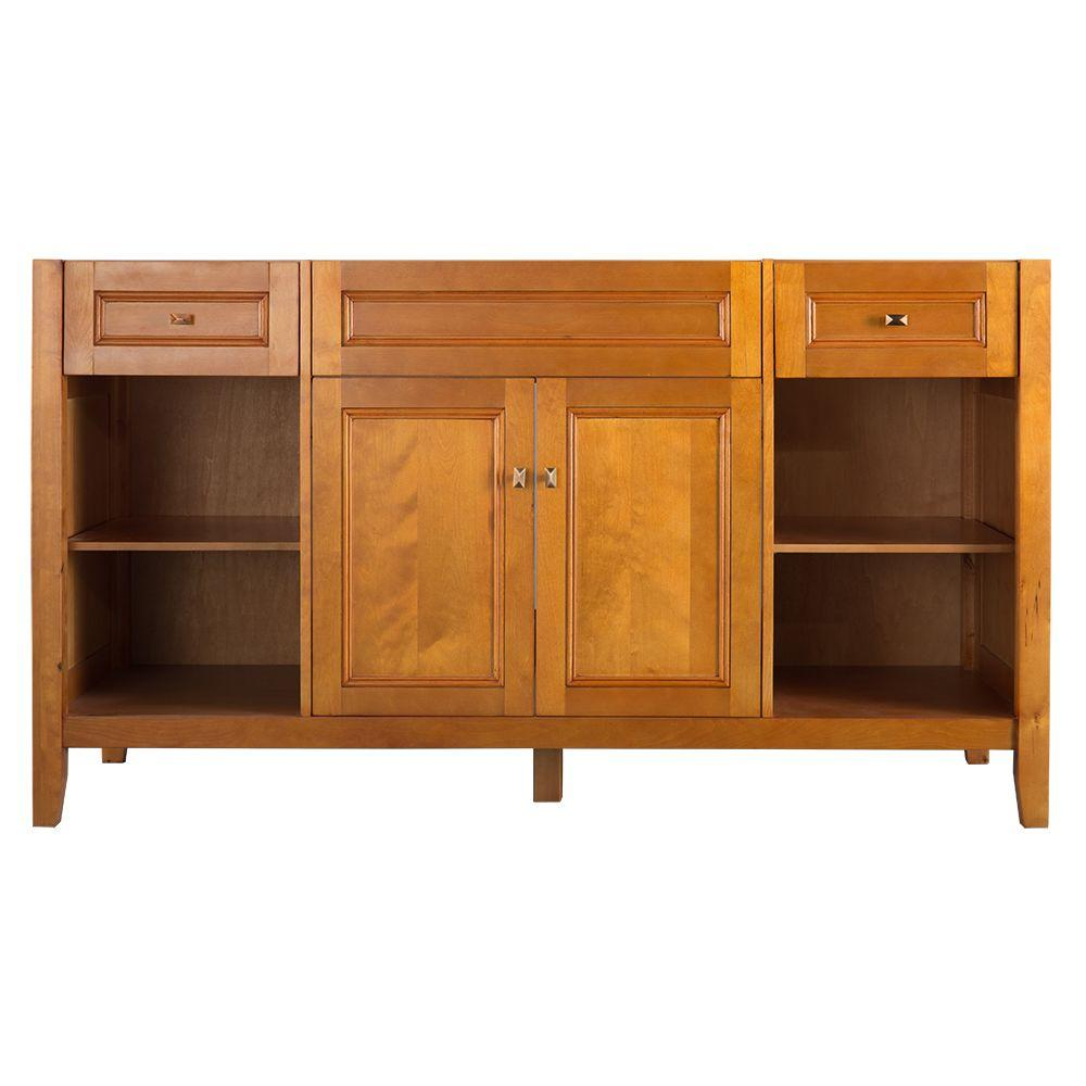 High Quality Home Decorators Collection Exhibit 60 In. W X 34 In. H Vanity Cabinet Only