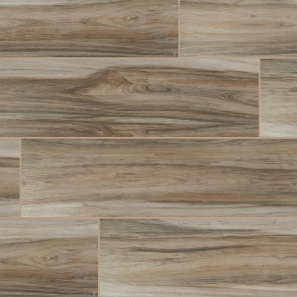 8 in. x 24 in. Ansley Amber Matte Ceramic Floor and Wall Tile (12.16 sq. ft./case)