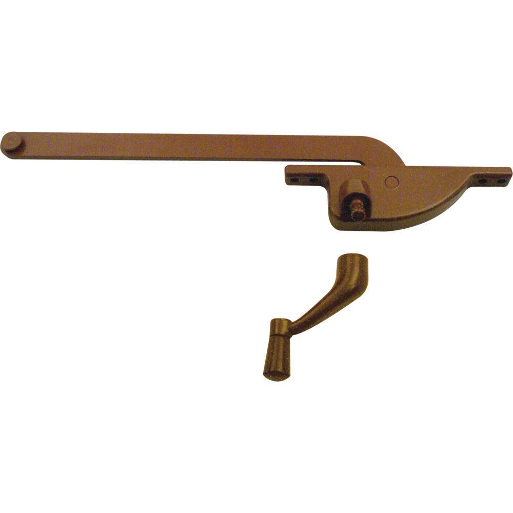 9 in. Bronze Teardrop Type Right-Hand Casement Operator