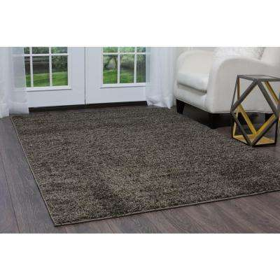 Synergy Dark Gray 8 ft. x 10 ft. Indoor Area Rug