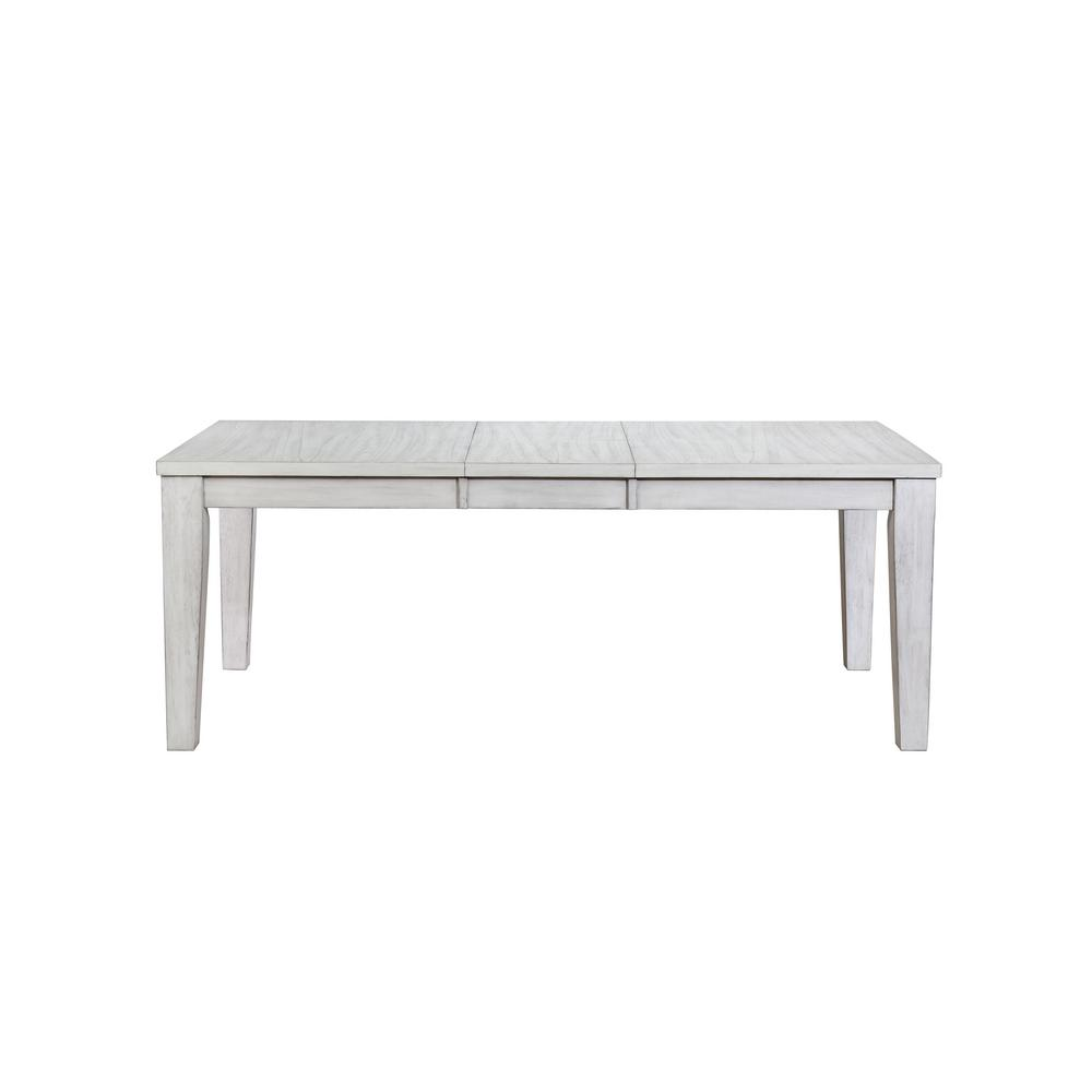 Acme Furniture Adriel Antique White Dining Table 72410 The Home Depot