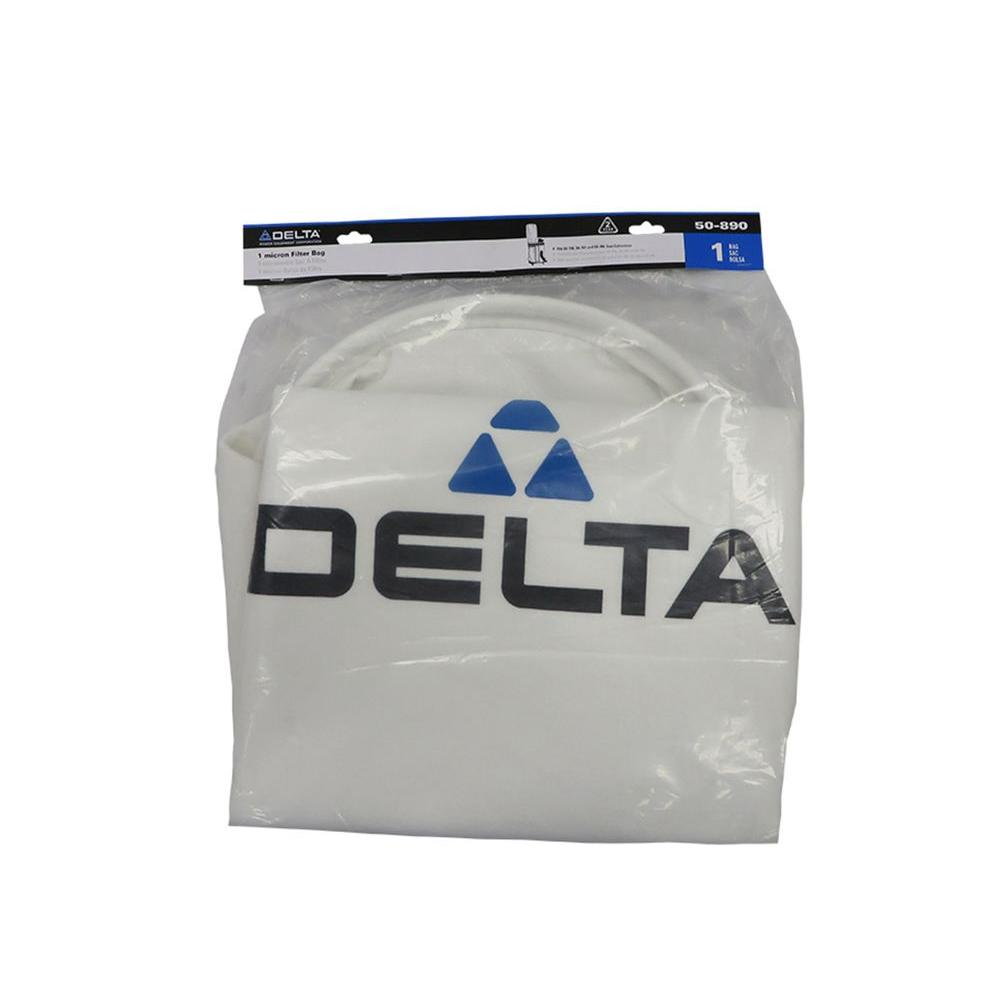 Delta 1 Micron Top Bag for 50-786 and 50-760 Dust Collector Accessory