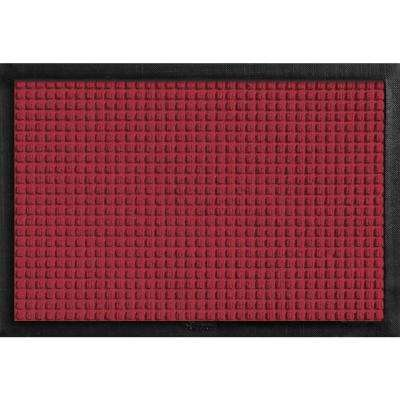 Aqua Shield with Rubber Border Bordeaux 17.5 in. x 26.5 in. Pet Mat