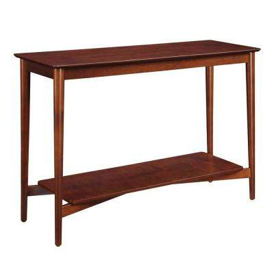 Savannah Mahogany Console Table