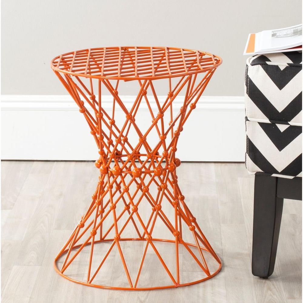 Charlotte Orange End Table
