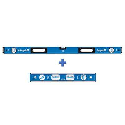 48 in. Magnetic Box Level with 12 in. Magnetic Level