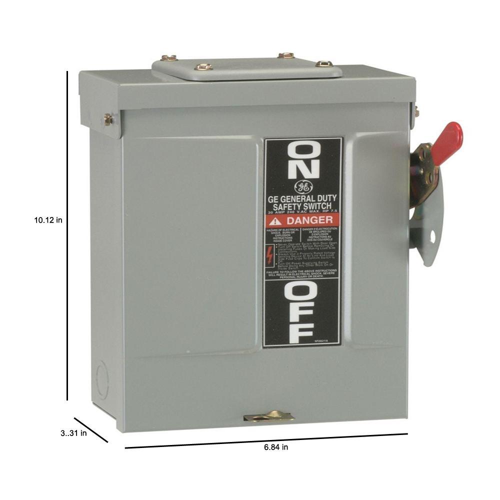 29 30 Amp Disconnect Wiring Diagram