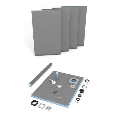 Fundo Primo 36 in. x 48 in. Shower Kit