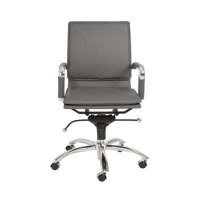 Gunar Gray Pro Low Back Office Chair