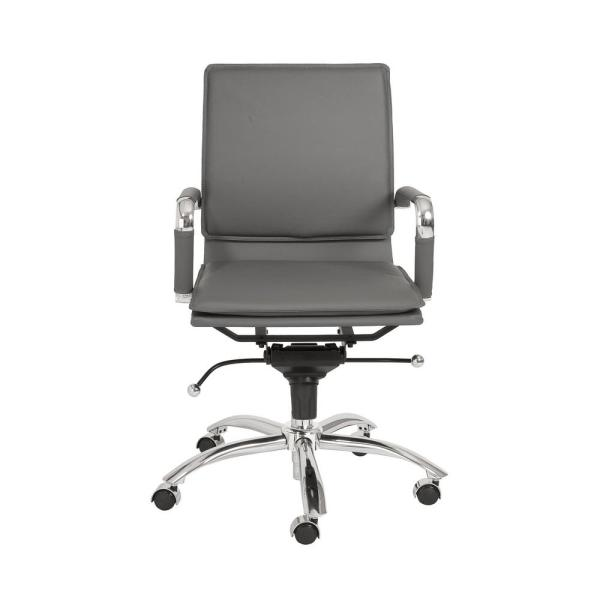 Eurostyle Gunar Gray Pro Low Back Office Chair 01263GRY