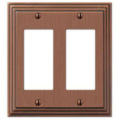 Steps 2 Decora Wall Plate - Antique Copper