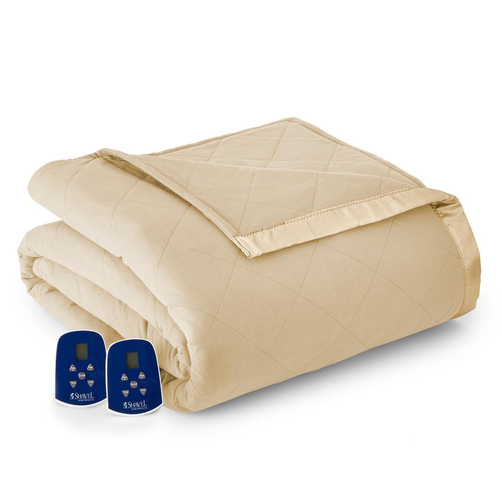 Twin Chino Electric Heated Comforter/Blanket