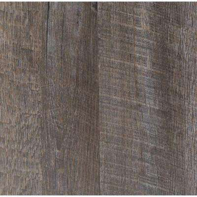 Embossed Oak Graphite 7 in. Wide x 48 in. Length Click Lock Luxury Vinyl Plank (23.36 sq. ft. / case)