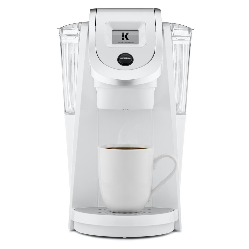 KEURIG K200 Plus Single Serve Coffee Maker, White