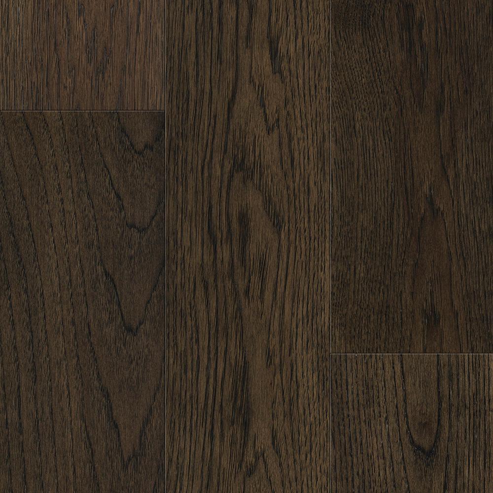 Waterproof Flooring Sepia Brown Hickory 6.5mmT x 6.5in.W x 48in.L Click Engineered Hardwood Flooring (21.67 sq.ft./case)