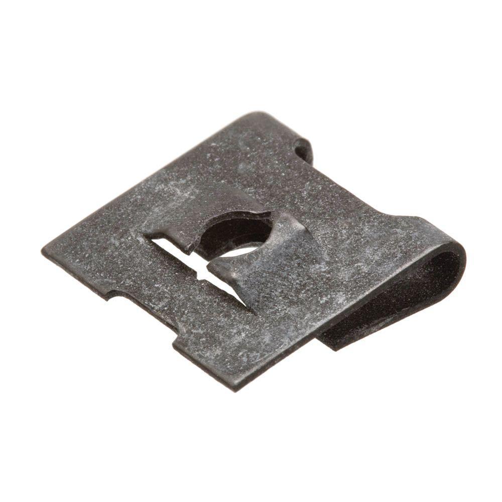 #8-32 Plain Steel Type J Speed Nut (2-Pack)