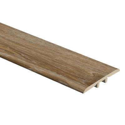 Woodacres Oak 1/3 in. Thick x 1-3/4 in. Wide x 72 in. Length Vinyl T-Molding