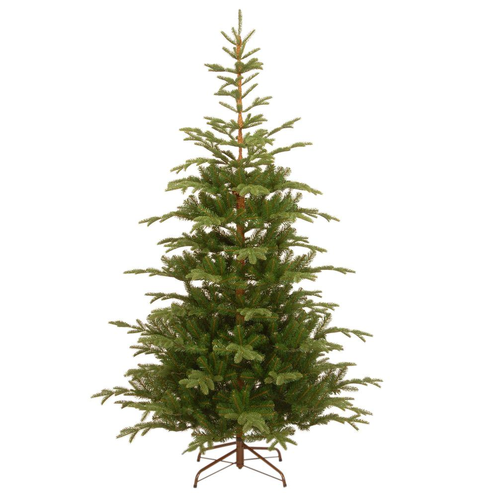 National Tree pany 7 1 2 ft Feel Real Norwegian Spruce
