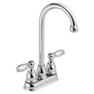 Foundations 2-Handle Bar Faucet in Chrome