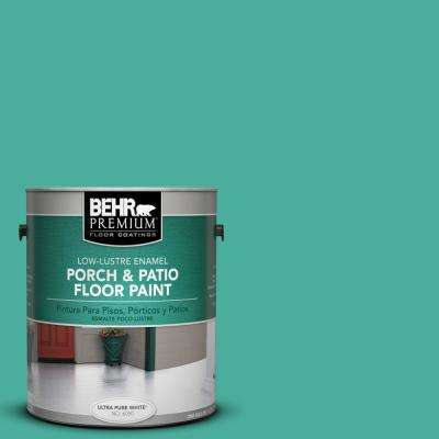 1 gal. #P440-5 Water Park Low-Lustre Porch and Patio Floor Paint