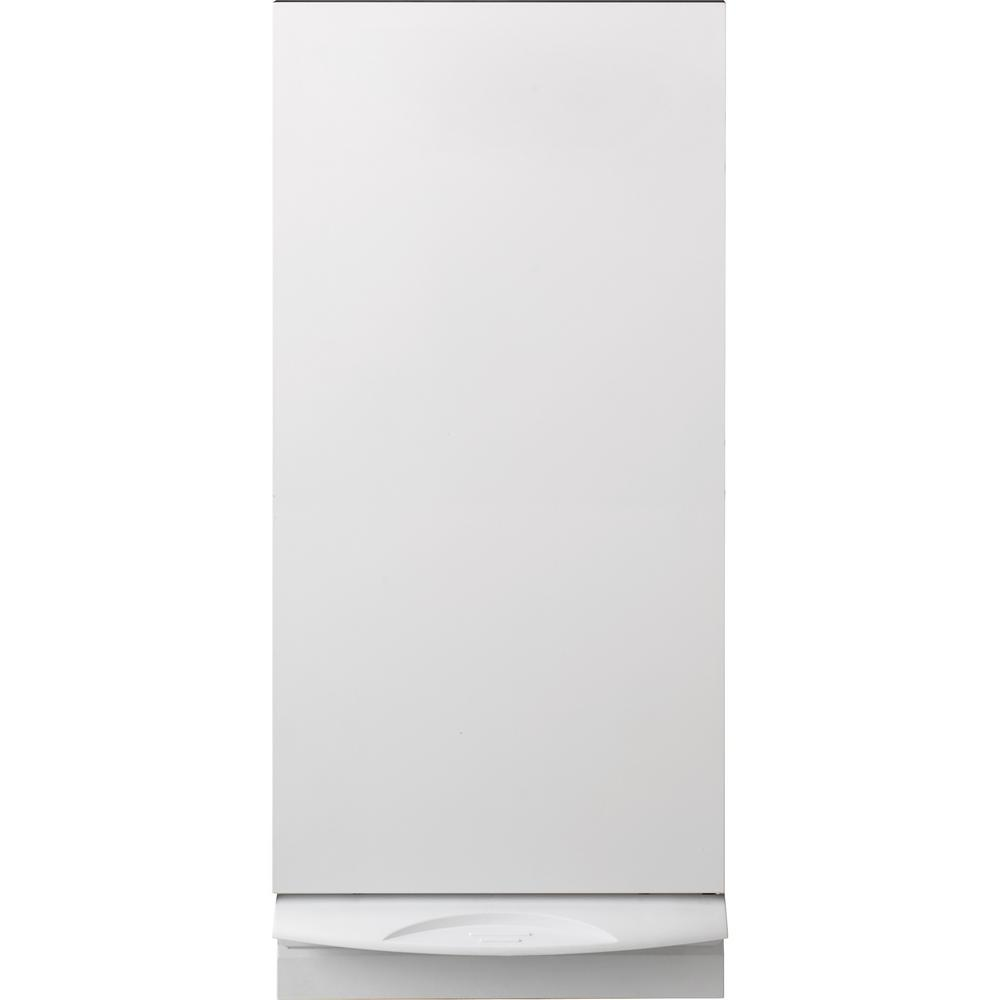 GE 15 in. Built-In Trash Compactor in White