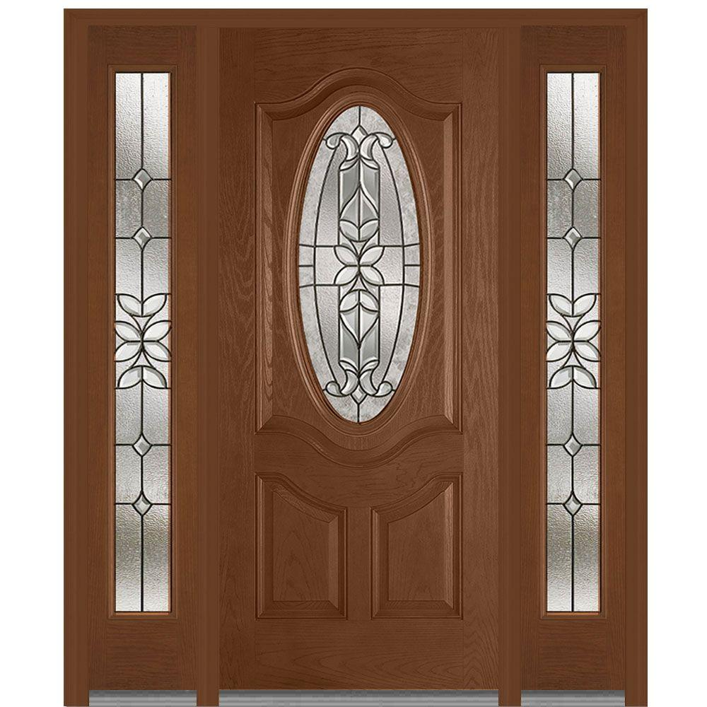 Mmi Door 68 5 In X 81 75 In Cadence Decorative Glass 3 4