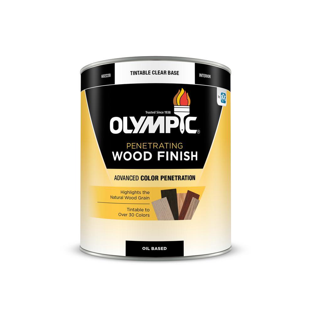 1-qt. Red Oak Semi-Transparent Oil-Based Wood Finish Penetrating Interior Stain