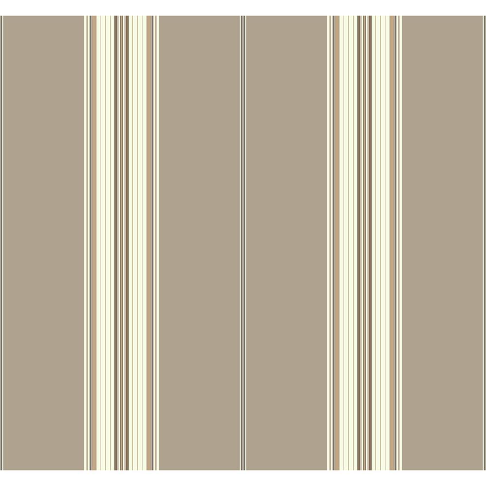 York Wallcoverings Waverly Stripes Down The Lane Wallpaper ...