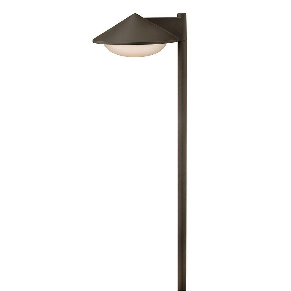 Low-Voltage 1.5-Watt Bronze Finish Contempo LED Path Light  sc 1 st  The Home Depot : low voltage pathway lights - azcodes.com