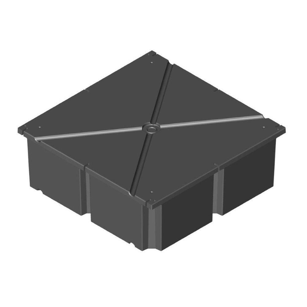 PermaFloat 48 in. x 48 in. x 20 in. Dock System Float Drum