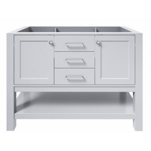 Bayhill 48 in. W Bath Vanity Cabinet Only in Grey