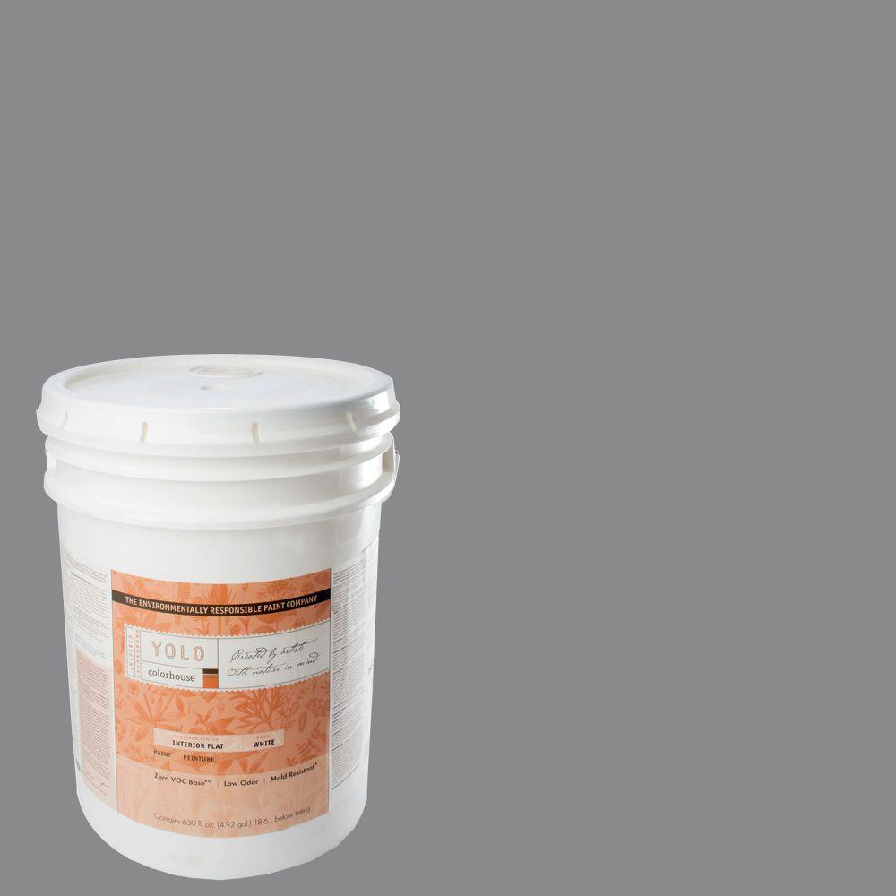 YOLO Colorhouse 5-gal. Wool .04 Flat Interior Paint-DISCONTINUED