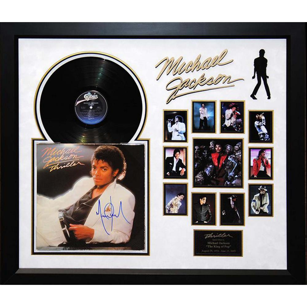 Prints By Deluxe: Michael Jackson (Thriller) Framed Deluxe Album Wall Art