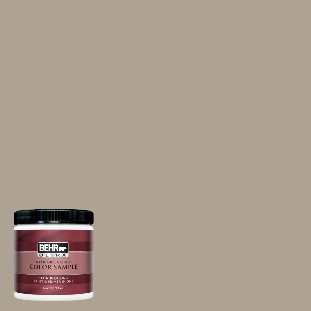 Behr Ultra 8 Oz 730d 4 Garden Wall Matte Interior Exterior Paint And Primer In One Sample