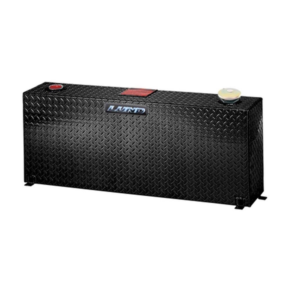 50 Gal. Aluminum Vertical Liquid Storage Tank, Black