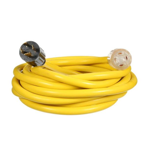 Universal 25 ft. 10/4 Universal Generator Extension Cord