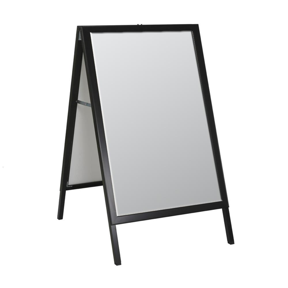 Azar Displays A Frame Metal Sign in Black