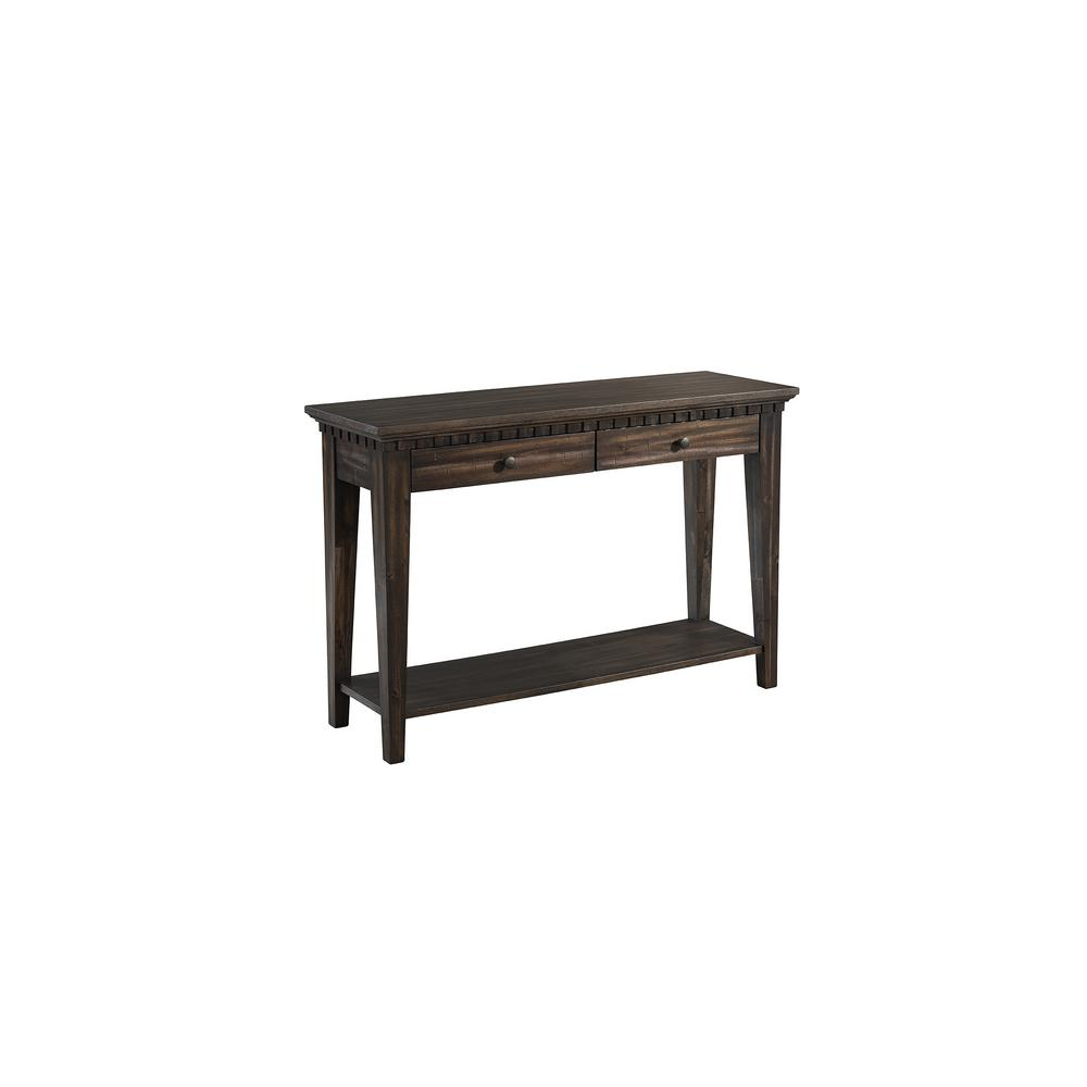 Steele Gray Oak Console Table