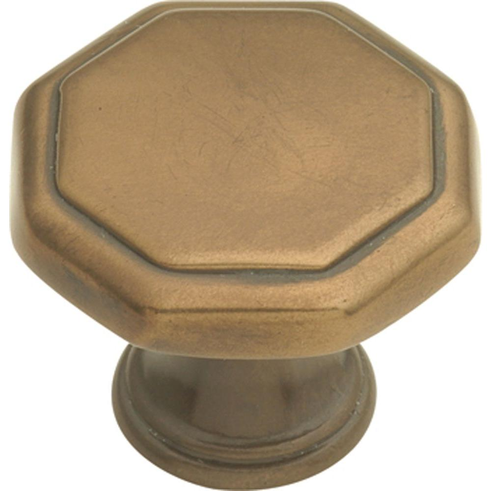 Conquest 1-1/8 in. Veneti Bronze Cabinet Knob