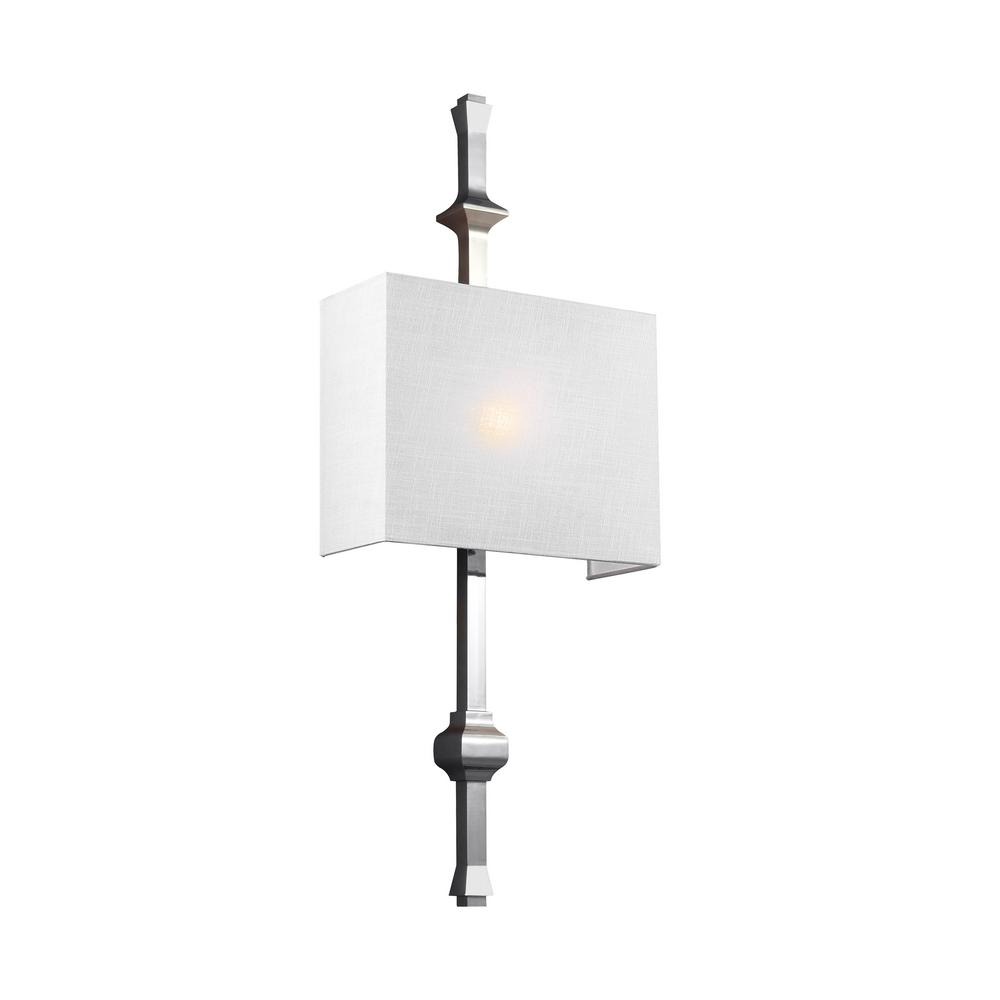 Teva 1-Light Polished Nickel Wall Sconce