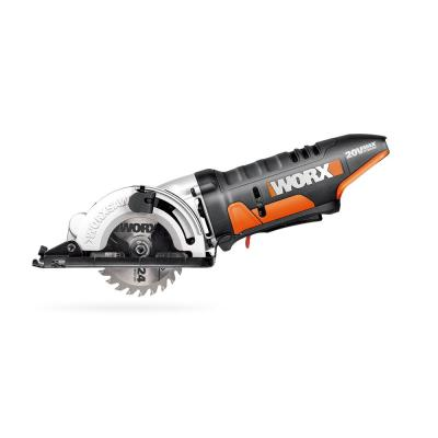 POWER SHARE 20-Volt Worxsaw 3-3/8 in. Compact Circular Saw (Tool Only)