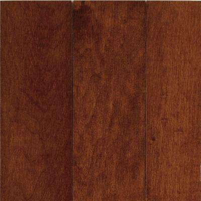Cherry Maple 3/4 in. Thick x 3-1/4 in. Wide x Varying Length Solid Hardwood Flooring (22 sq. ft. / case)