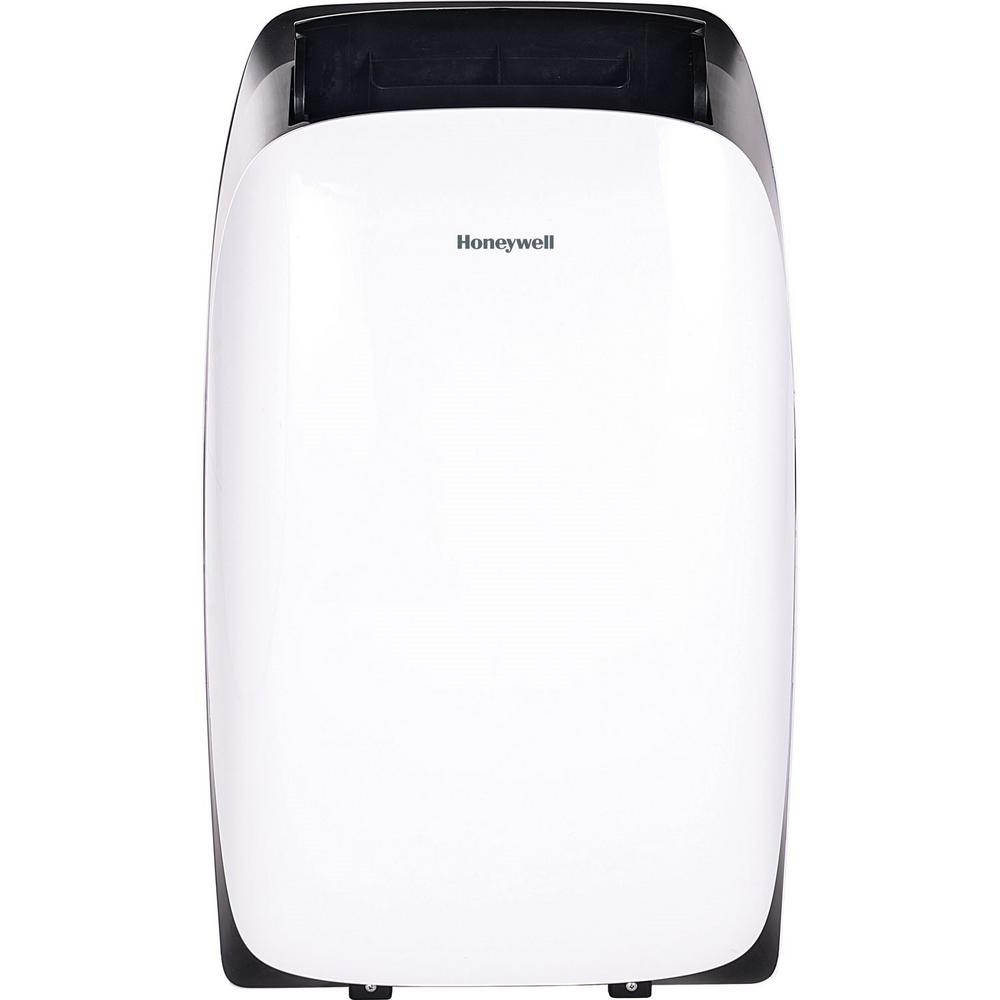 Honeywell HL Series 14,000 BTU, 115-Volt Portable Air Conditioner with Dehumidifier and Remote Control in White and Black