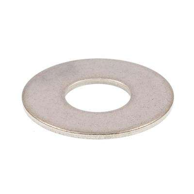 1/2 in. Grade 18-8 Stainless Steel Flat Washer (10-Pack)