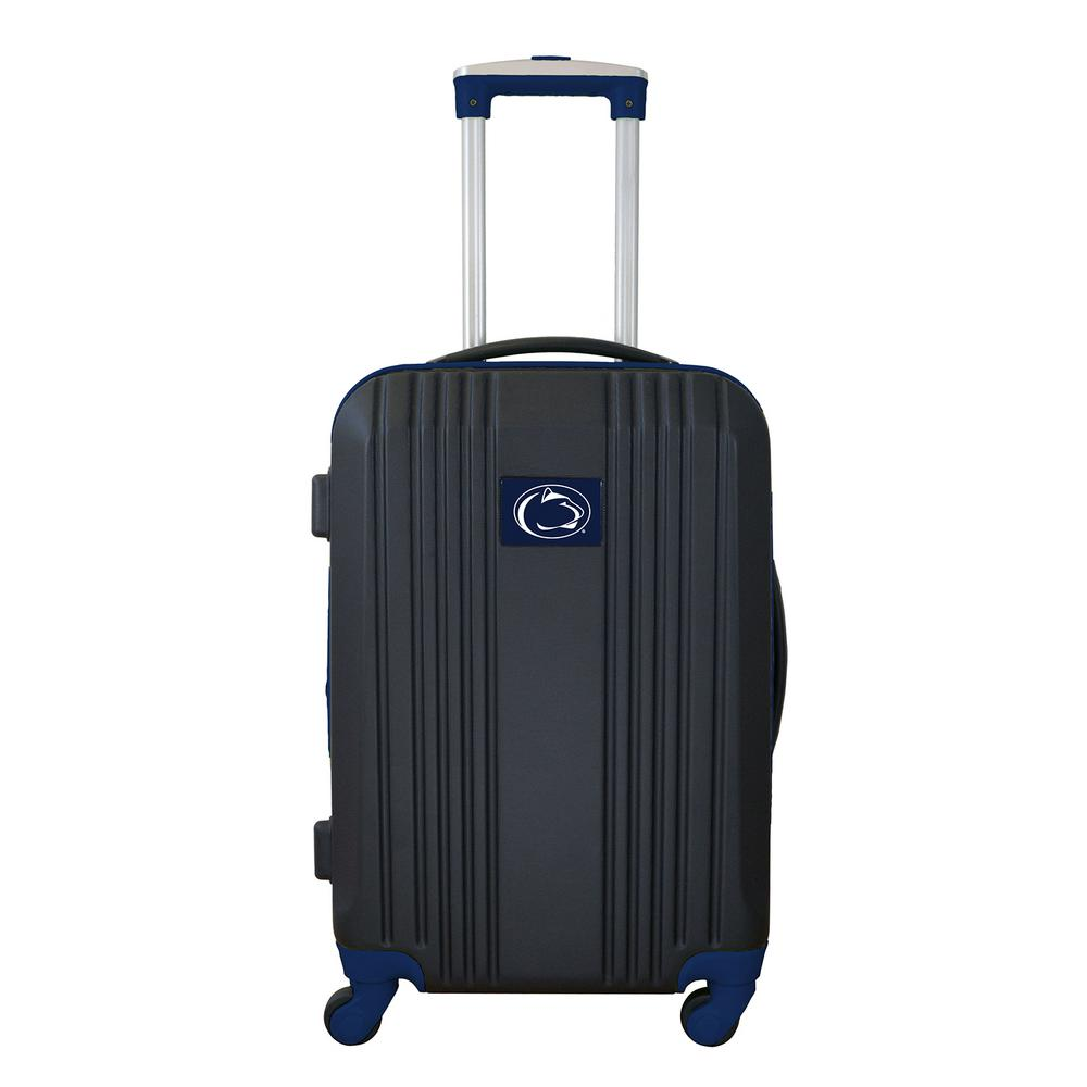120a3bf450 Denco NCAA Penn State 21 in. Navy Hardcase 2-Tone Luggage Carry-On ...