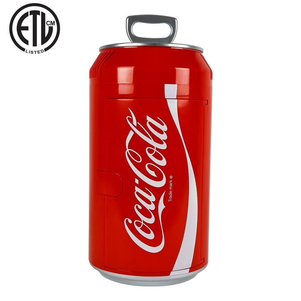 Coca-Cola® Can Mini Fridge in Red