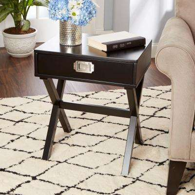 Brigham Black End Table