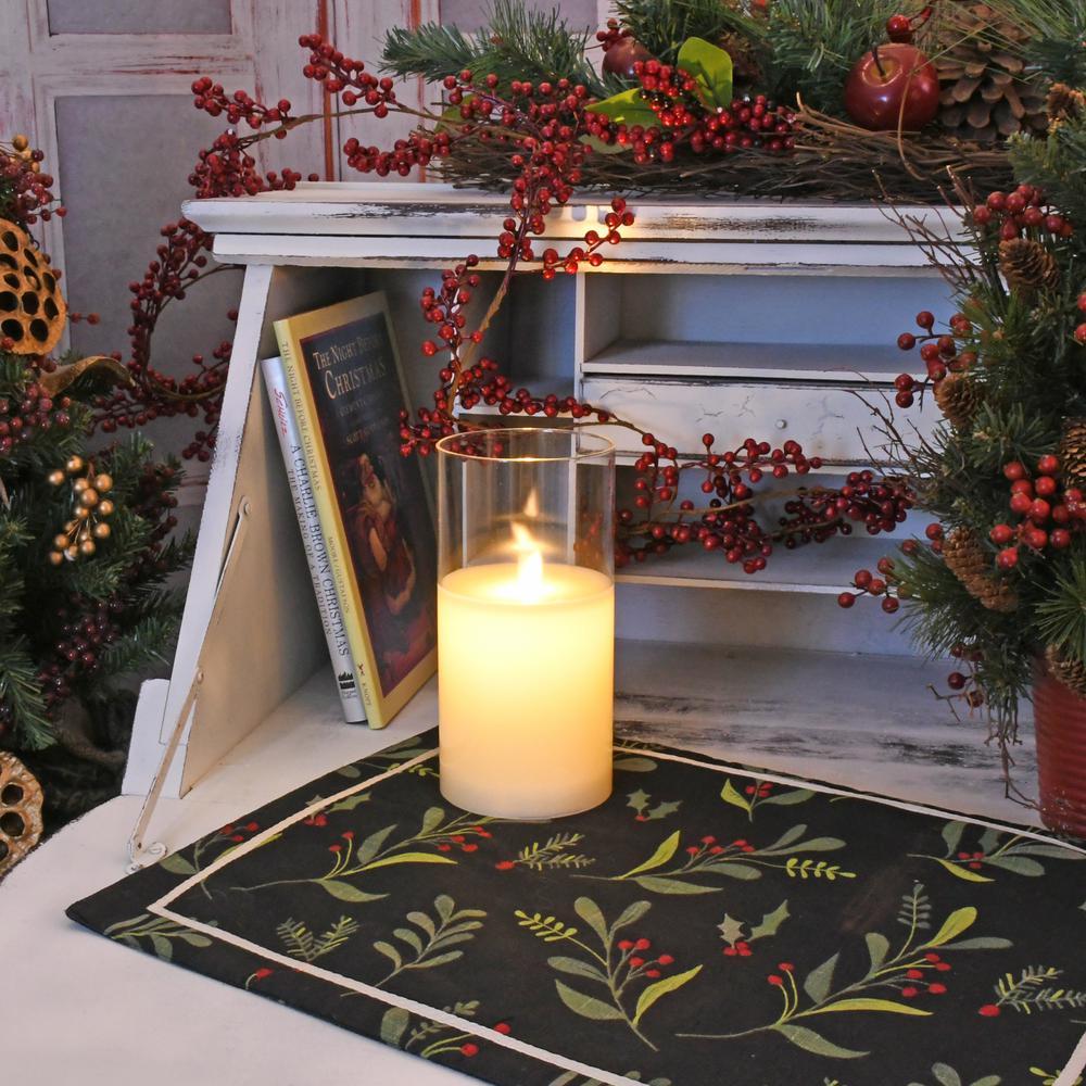 "8/"" Christmas Angel Rustic White Hurricane Candle Lantern w// Door"