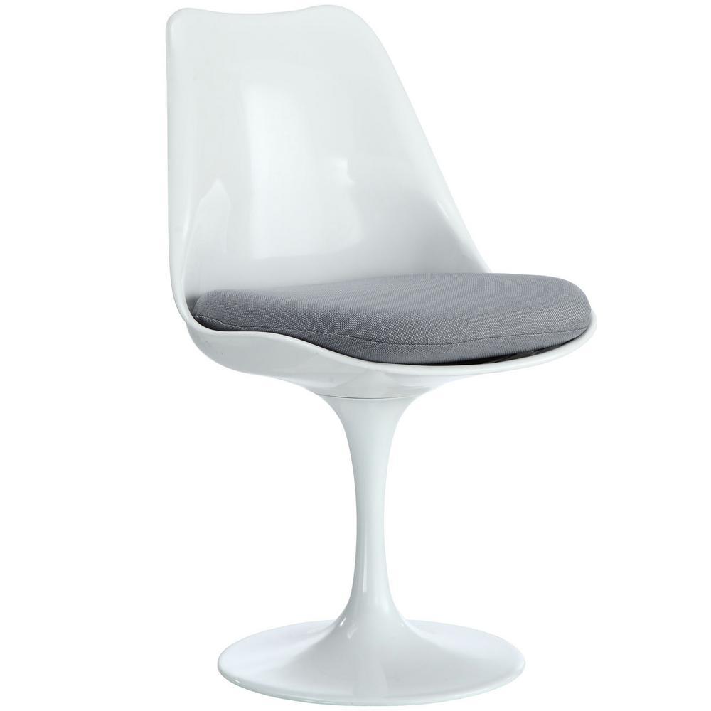 Lippa Gray Dining Fabric Side Chair